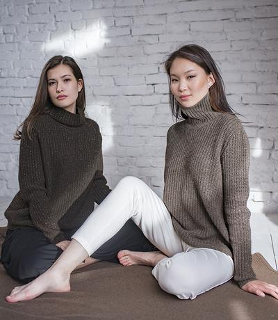 Undyed yak down: Finally, a natural fiber that is as practical as it is exotic and luxurious